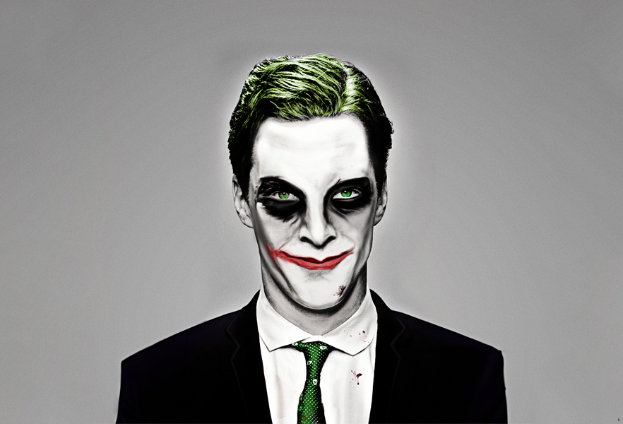 Benedict Cumberbatch as Joker by akhilkay