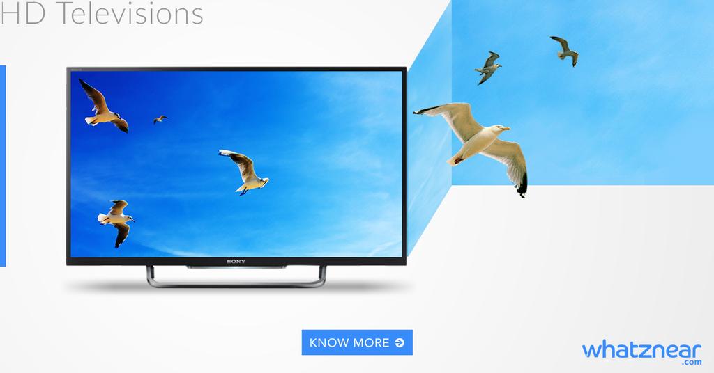 Whatznear FB ad - HD Tvs by akhilkay