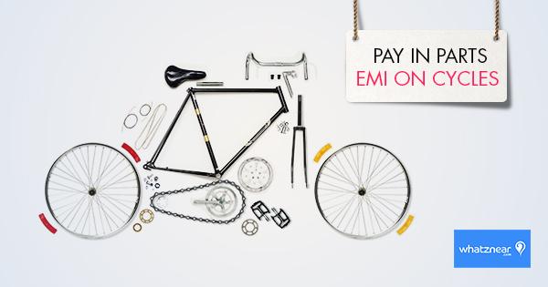 Whatznear FB ad - Cycle EMI Offer by akhilkay