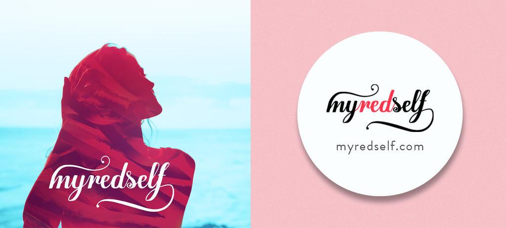 Logo Design-MYREDSELF - Subscription box by akhilkay