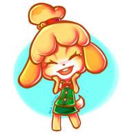 AC: Isabelle by MilkLychee