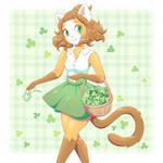 clover gathering by SugarJoySpark