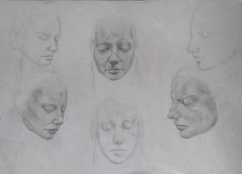 Faces by MakowiecArt