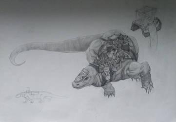 Lizard by MakowiecArt