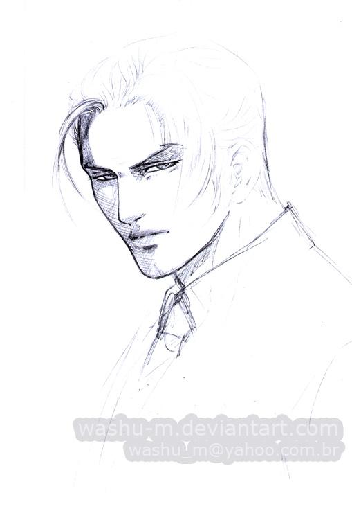Cool Guy Sketch By Washu M On Deviantart
