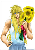 Milo and the Sunflowers by Washu-M