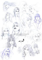 Faces and Stuff by Washu-M