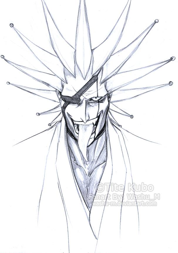 Zaraki Kenpachi Sketch By Washu M