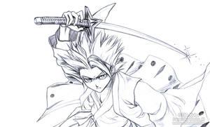 Hitsugaya Toshiro Sketch