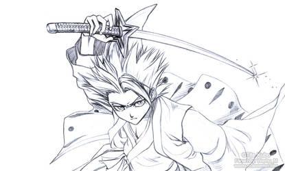 Hitsugaya Toshiro Sketch by Washu-M