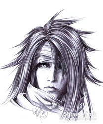 FF7 - VINCENT Valentine - Pen by Washu-M