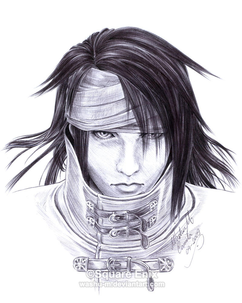 FF7 - VINCENT Valentine - Pen3 by Washu-M