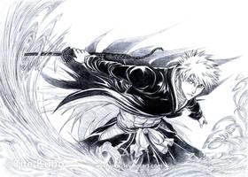 BLEACH - Kurosaki ICHIGO -Burn by Washu-M