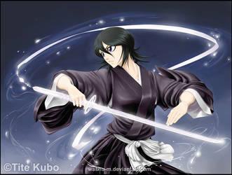 BLEACH - Kuchiki RUKIA by Washu-M