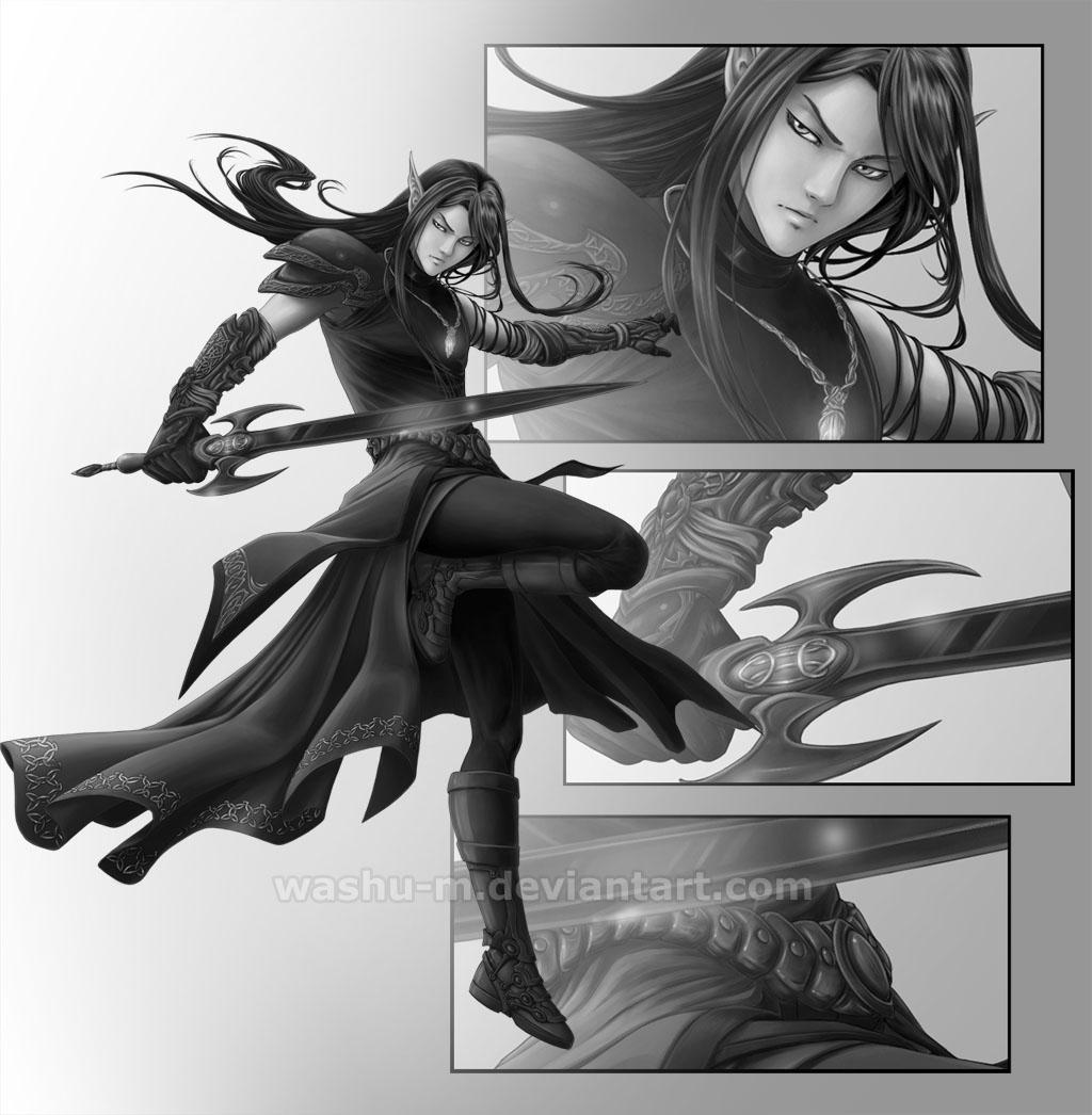Commission - Lord SHIN by Washu-M