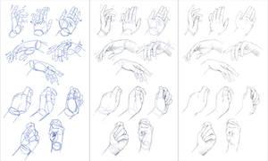 Studing Hands... lol