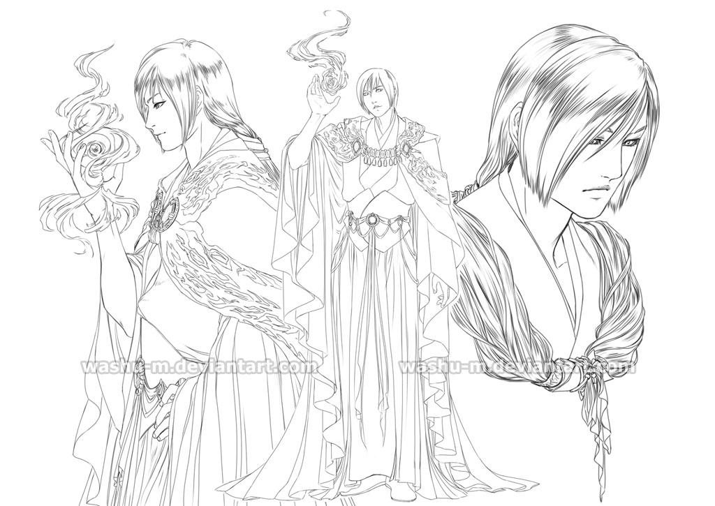 Character STUDY - 006 by Washu-M