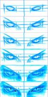 Sephiroth eyes steps