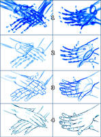 HANDS Steps - The way I draw by Washu-M