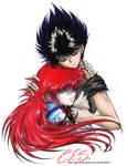 Kurama and Hiei