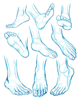 FEET sketches