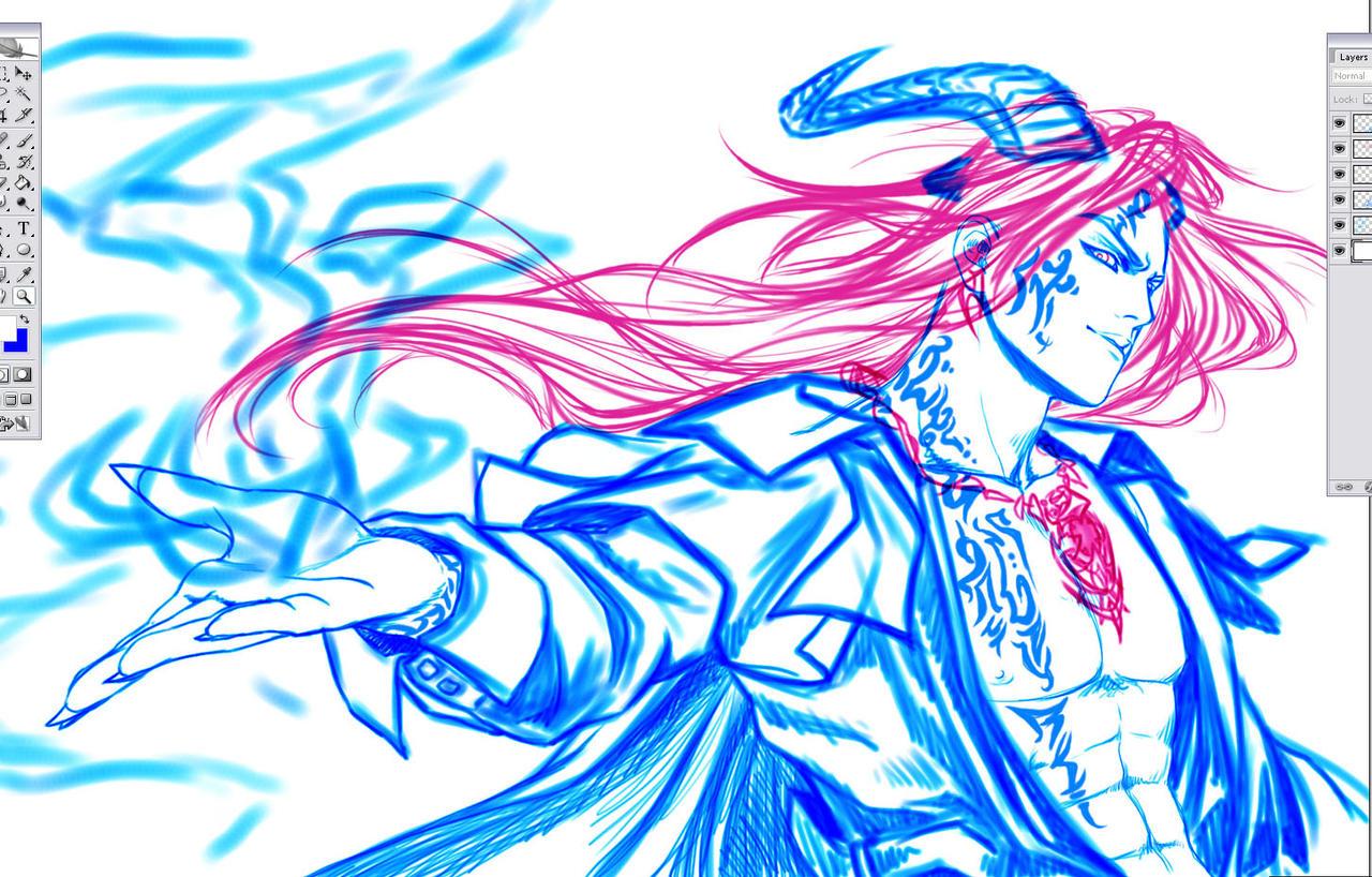 Random Character sketch by Washu-M