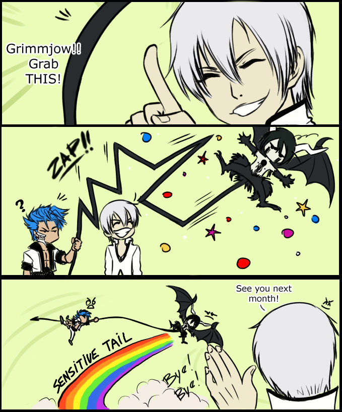BLEACH - GRIMMJOW Grab This by Washu-M
