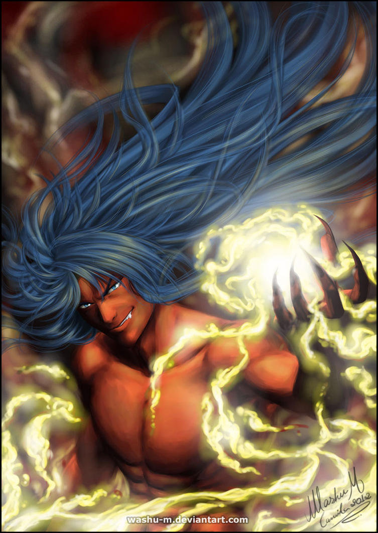 Gemini DEUTEROS - Saint Seiya Lost Canvas by Washu-M