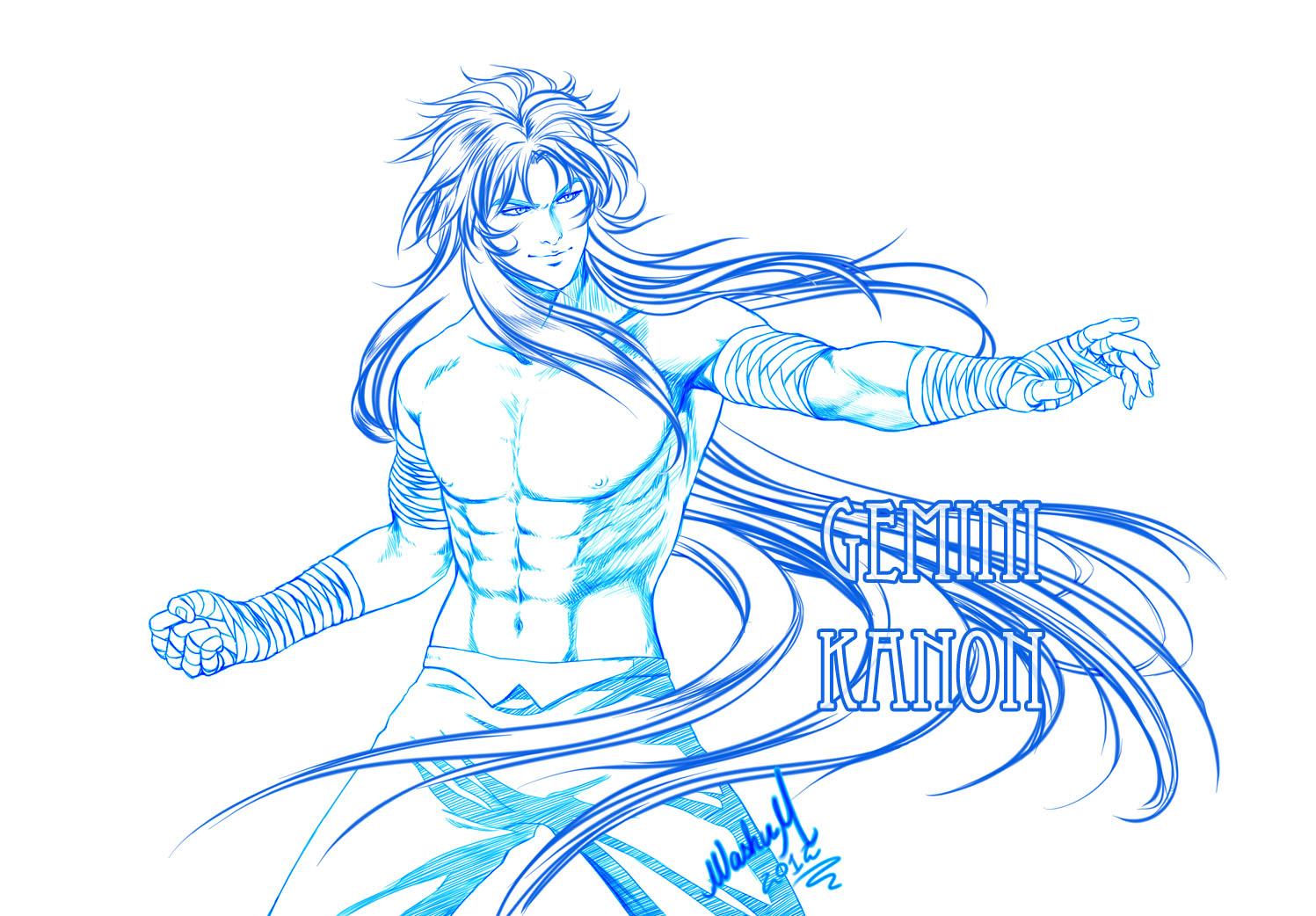 Gemini KANON Sketch by Washu-M