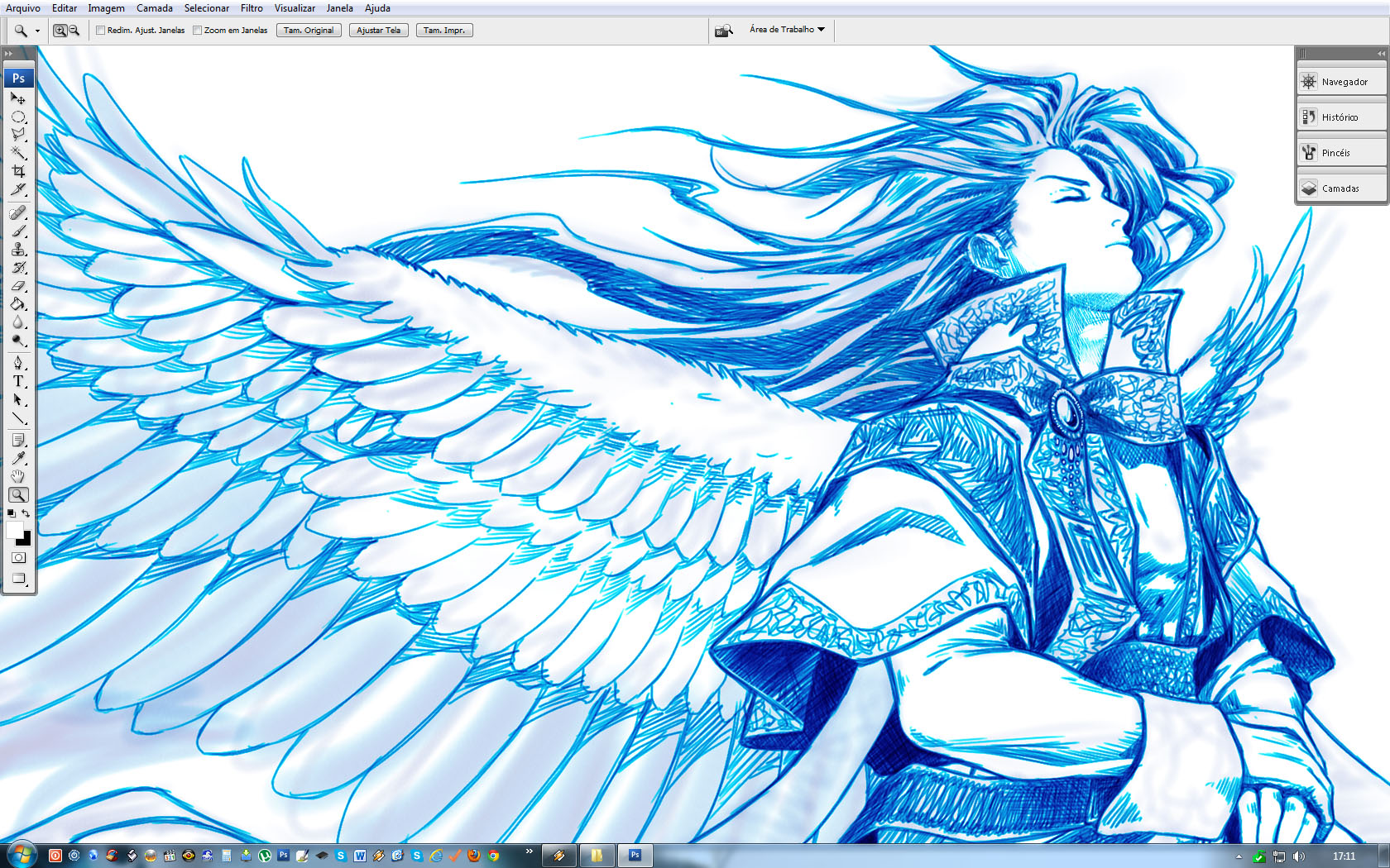 Another ANGEL WIP by Washu-M