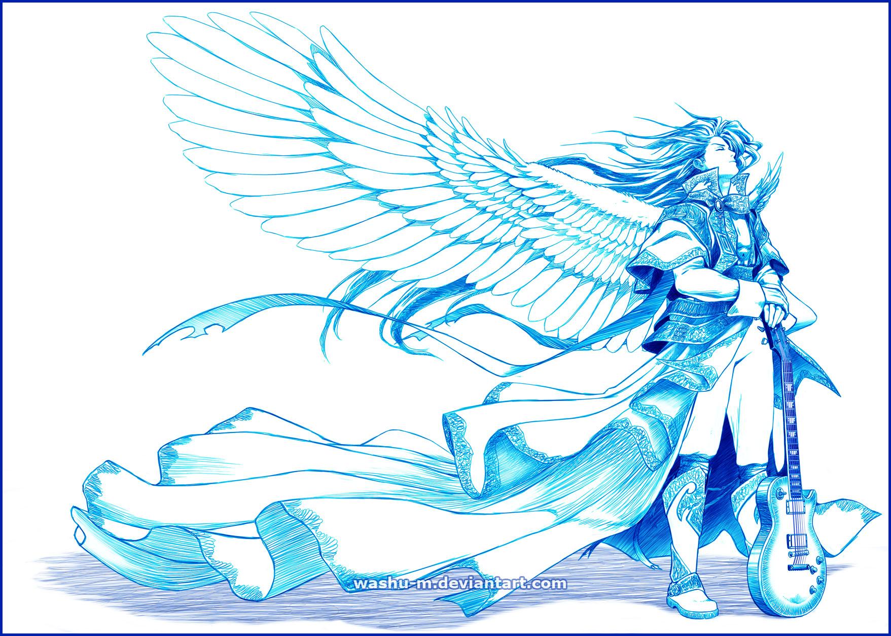The ANGEL Behind Heaven's Door by Washu-M