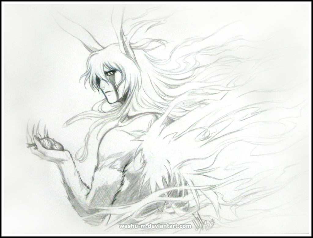 ULQUIORRA Sketch - BLEACH by Washu-M