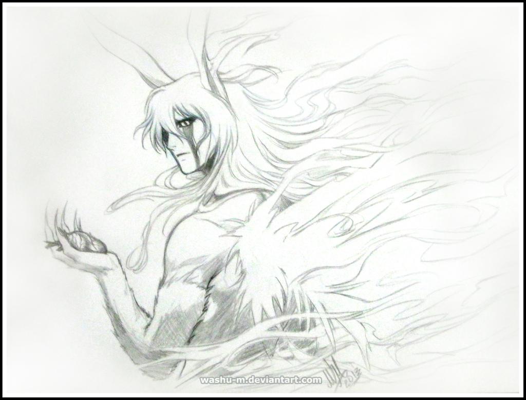 ULQUIORRA Sketch - BLEACH by Washu-M