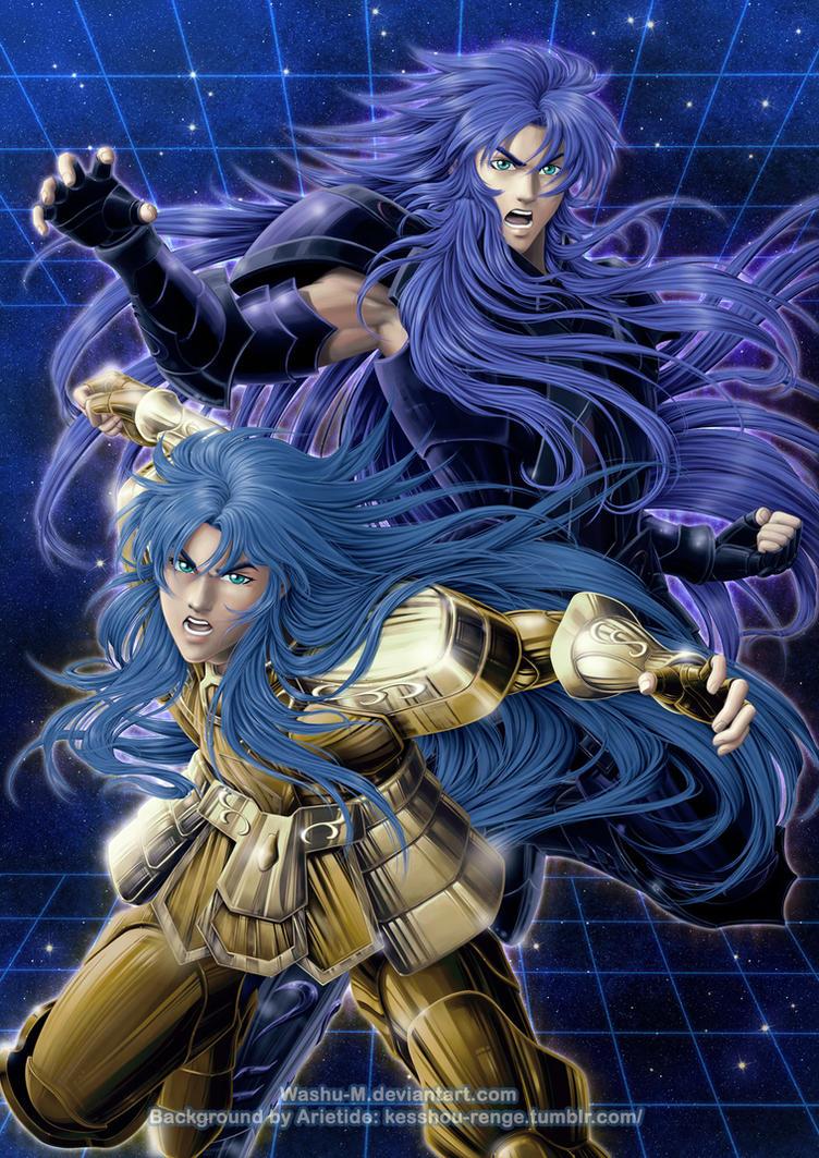 Saga and Kanon Poster by Washu-M