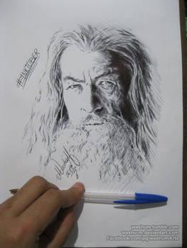 Gandalf for Inktober day03