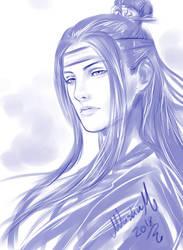 Lan WangJi Sketch by Washu-M