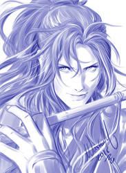 Wei WuXian Sketch by Washu-M