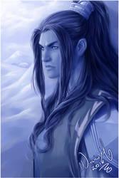 Nie Mingjue in blue by Washu-M