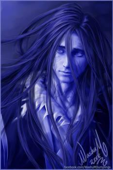 Wen Ning in Blue