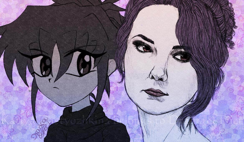 Katiya - Character Design Development by Dradra-Trici