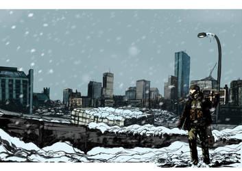 Forever winter #1 3rd printing cover by JoelLolar