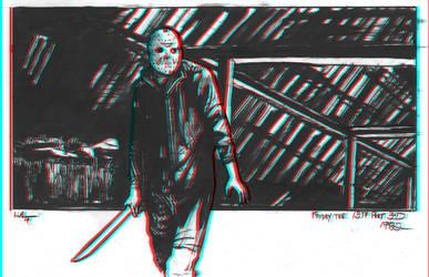 Friday the 13th part 3d by JoelLolar