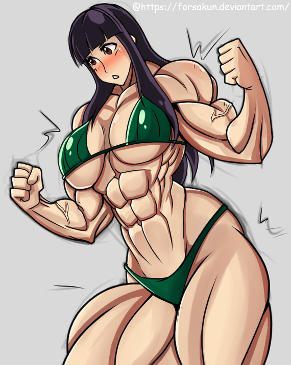 Muscle Girl - Isa