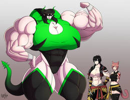Commission - Big Show Off by Forsa-kun