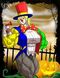 Gym Goers Halloween: The Clowngician - More Clown