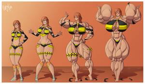 Commission - Edetha's Biceps by Forsa-kun