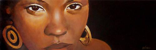 African girl final by tropicart