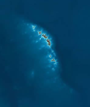 Rising Continent 450 mya Late Ordovician