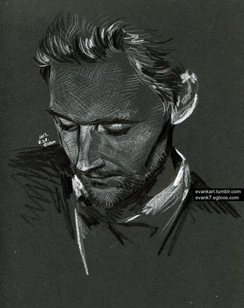Tom hiddleston by evankart