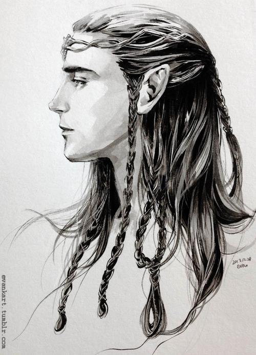 A Noldor Elf lord by evankart